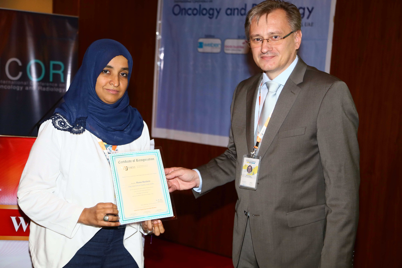 Cancer conference - Dr. Muna Baslaim