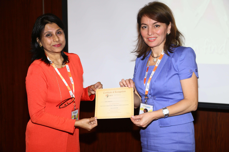 Cancer conference - Dr. Zulfiya Shafigullina