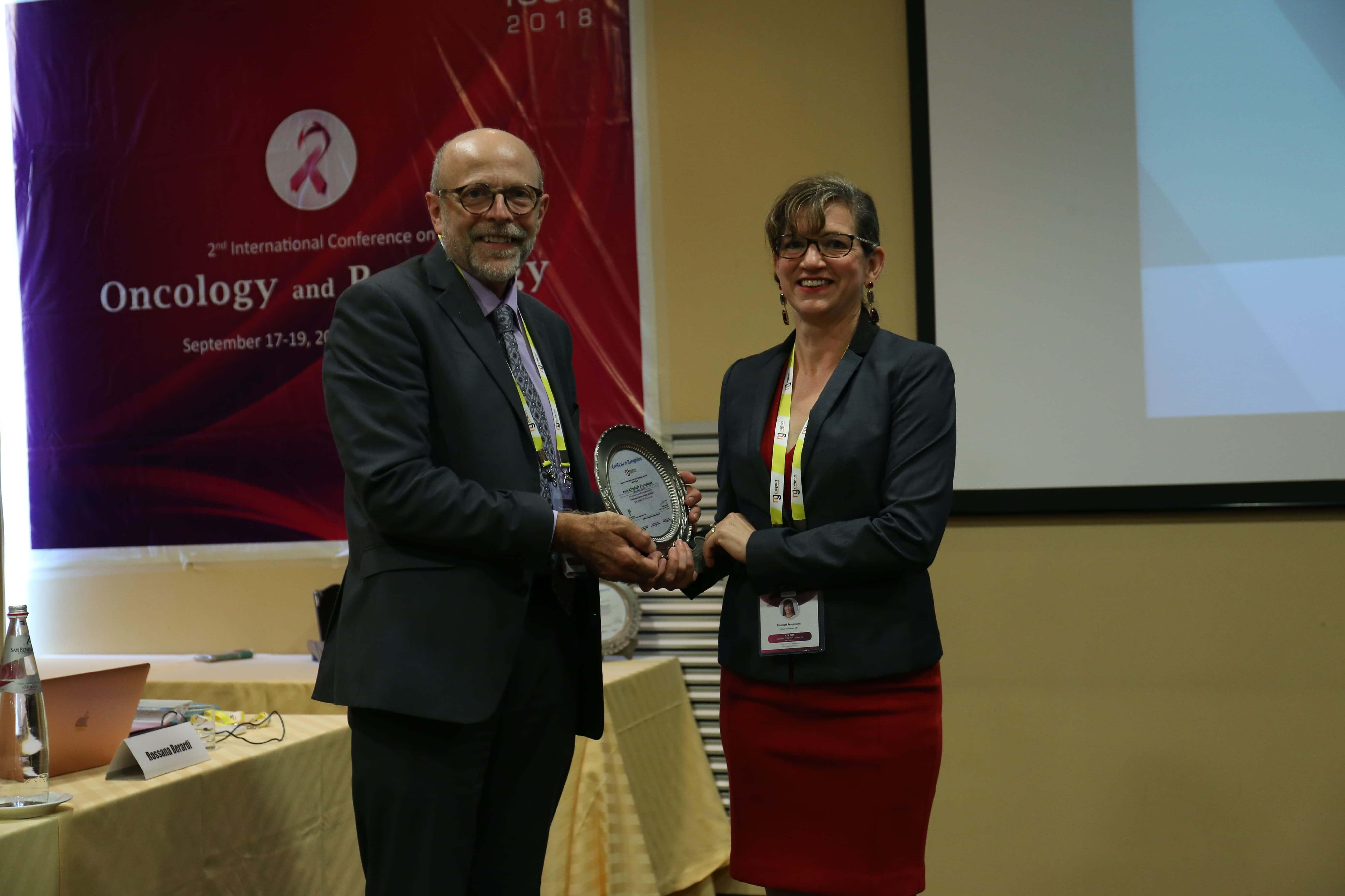 Cancer education conferences - Elizabeth Franzmann