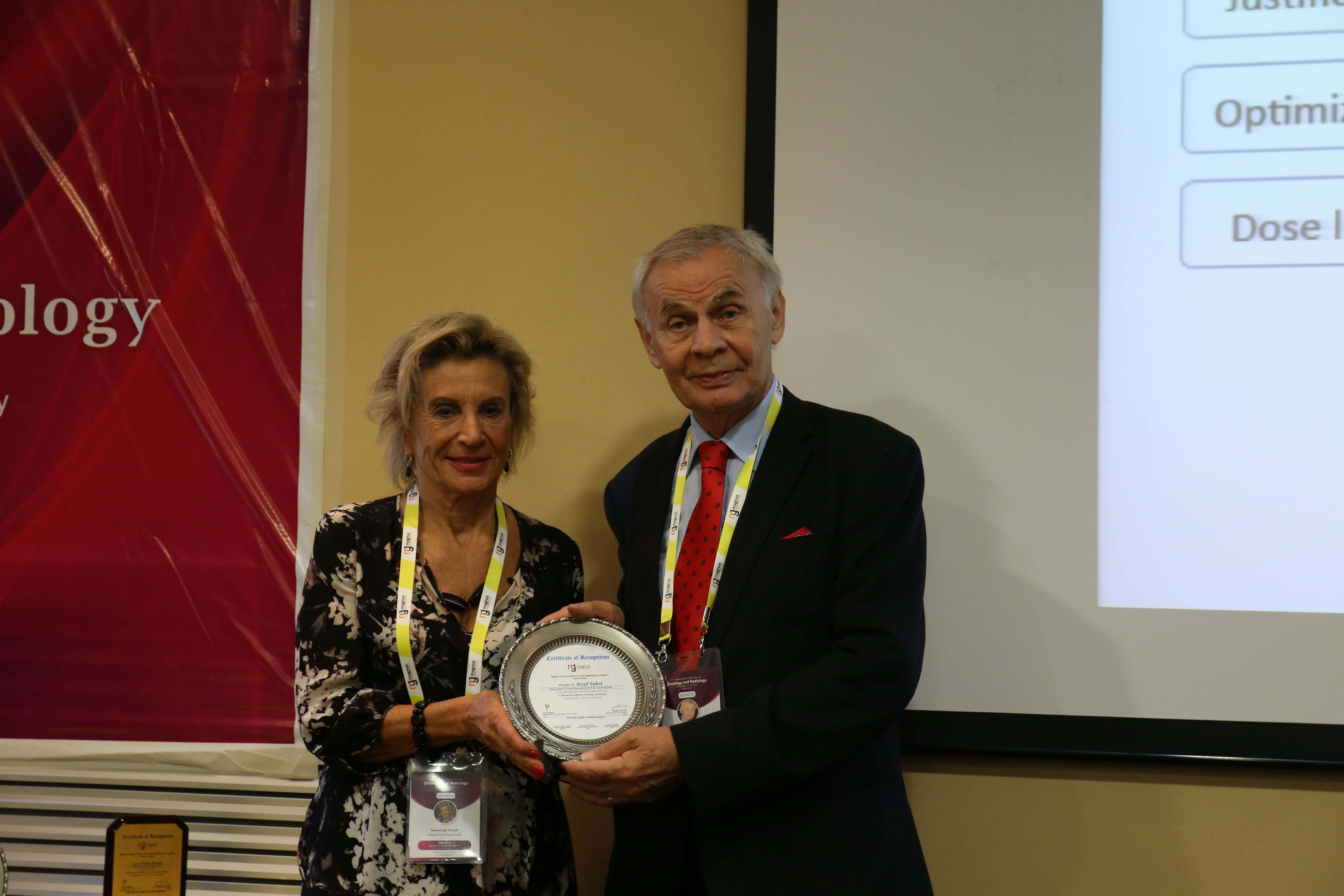 Cancer education conferences - Jozef Sabol