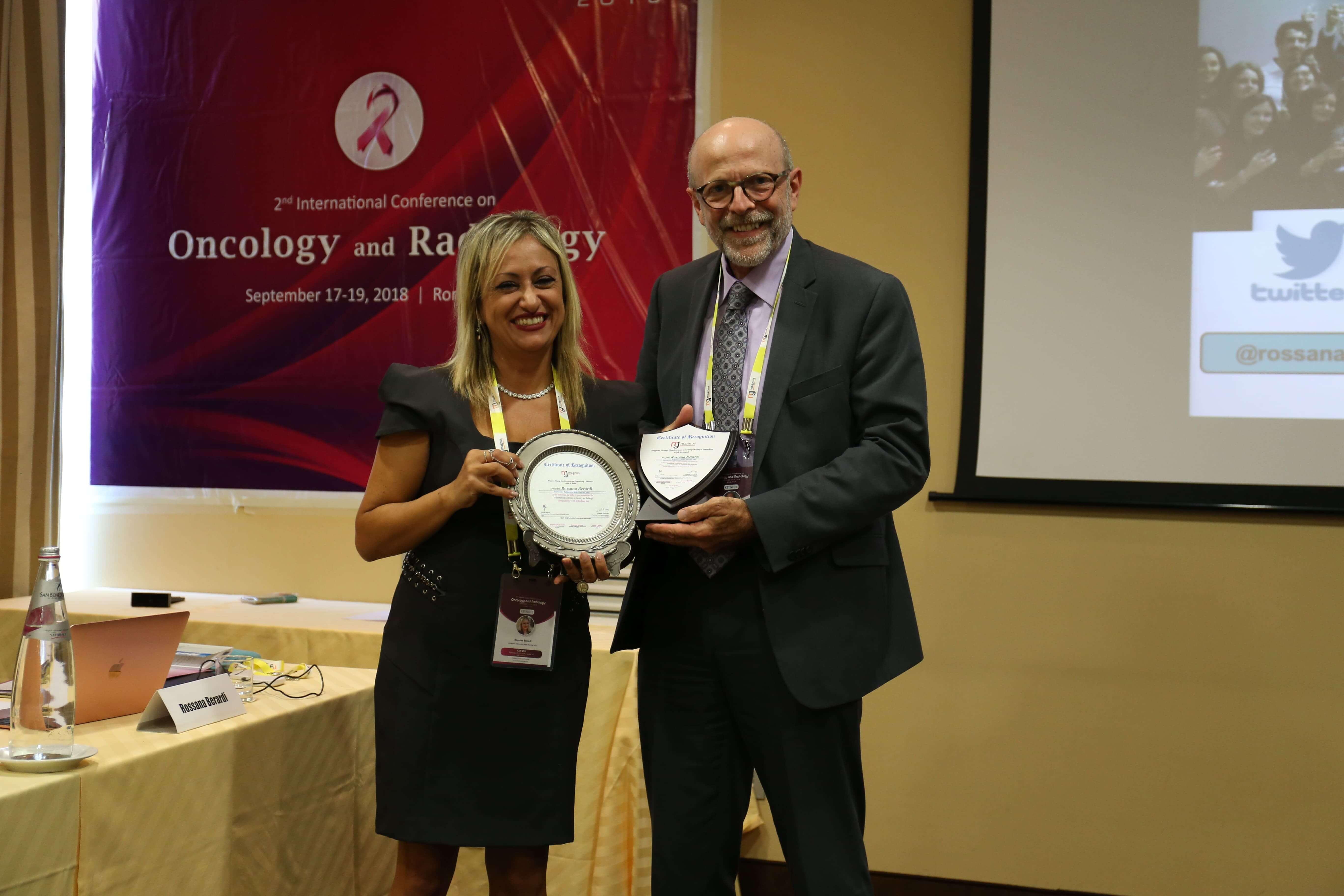 Cancer Conferences - Rossana Berardi